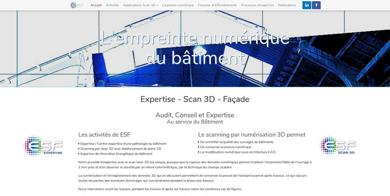 Expertise Scan3d