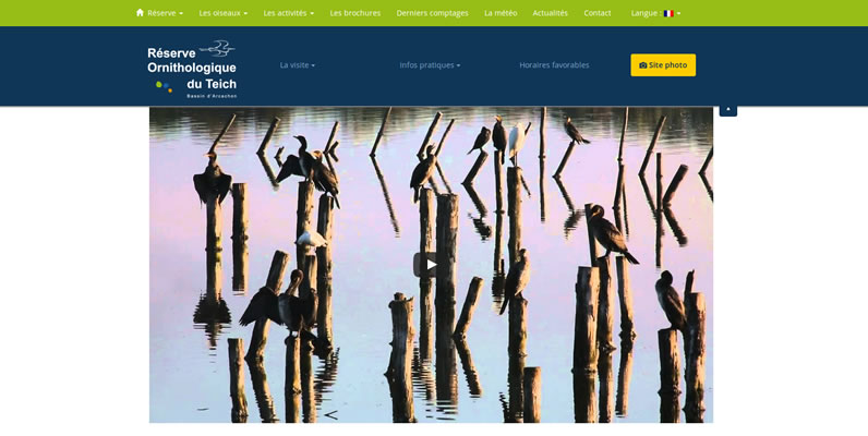 Réserve ornithologique du Teich