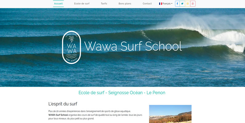 Wawa Surf School